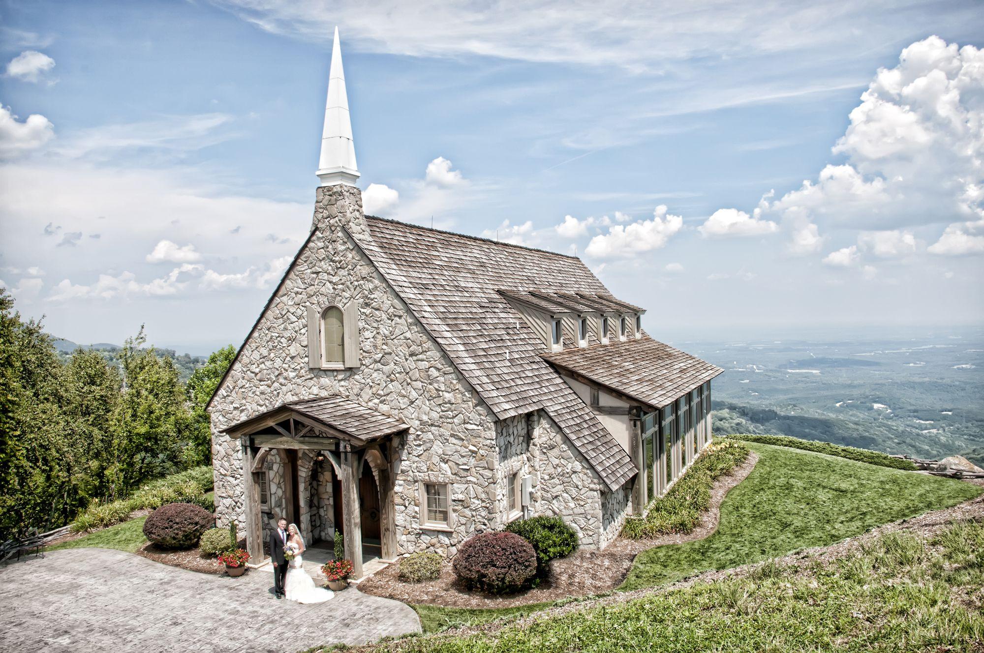The Cliffs At Glassy Mountain Chapel South Carolina Blue Ridge Mountains Aka Wedding Spot