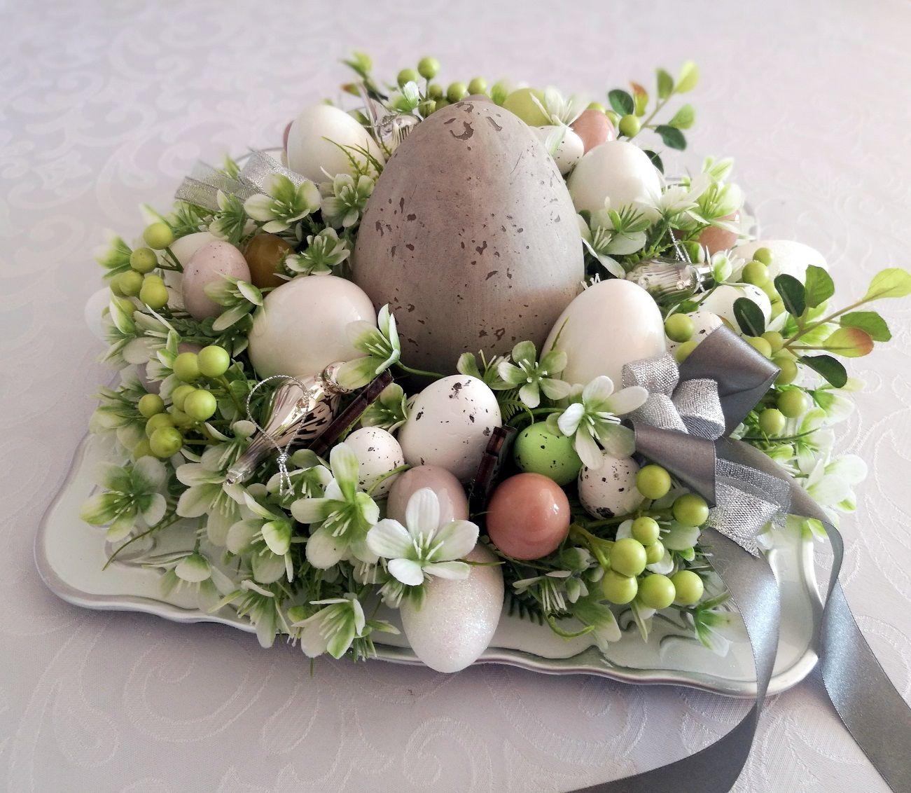 Wielkanocny Wianek Wiosenna Mgla Nr 77 Swiateczne Atelier Easter Centerpieces Easter Diy Easter 2020