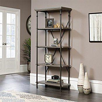 Foundstone Kit Geometric Bookcase Bookcase Living Room Corner