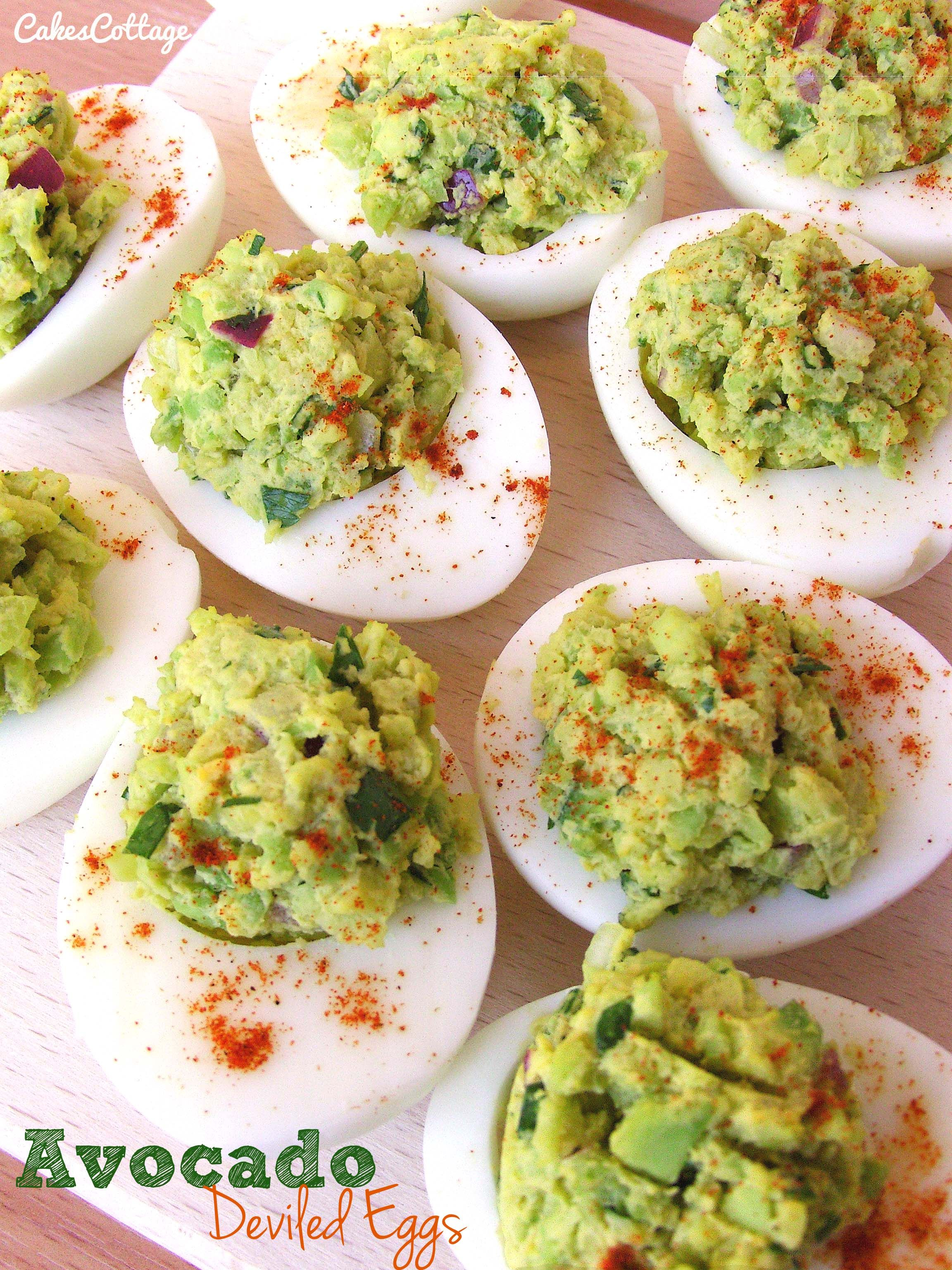 Avocado Deviled Eggs on Pinterest | Deviled Eggs Recipe, Ninja Blender ...