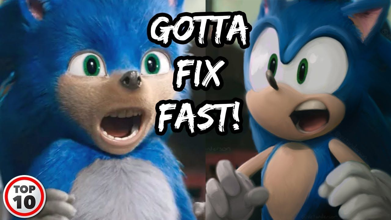 Sonic The Hedgehog Fixed After Fan Backlash Sonic The Hedgehog Sonic Hedgehog