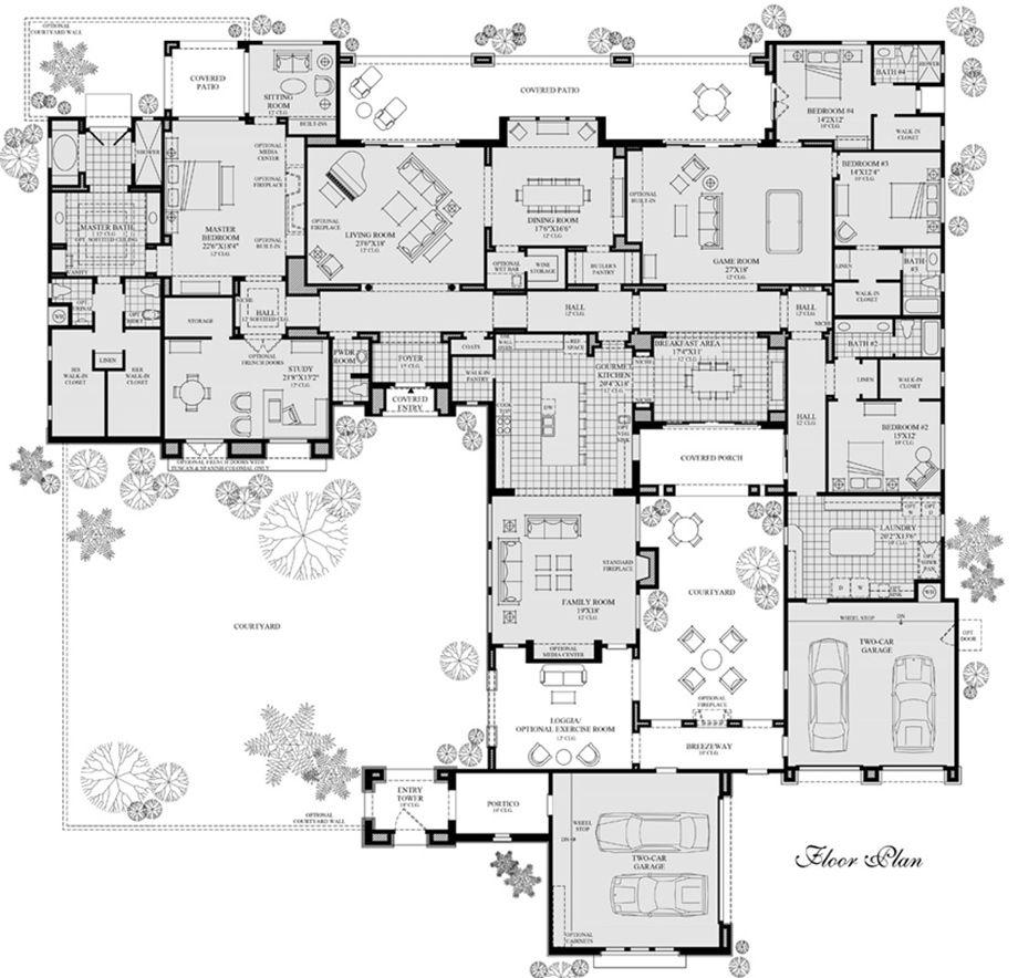 Terreno At Saguaro Estates Luxury New Homes In Scottsdale Az House Plans How To Plan Dream House Plans