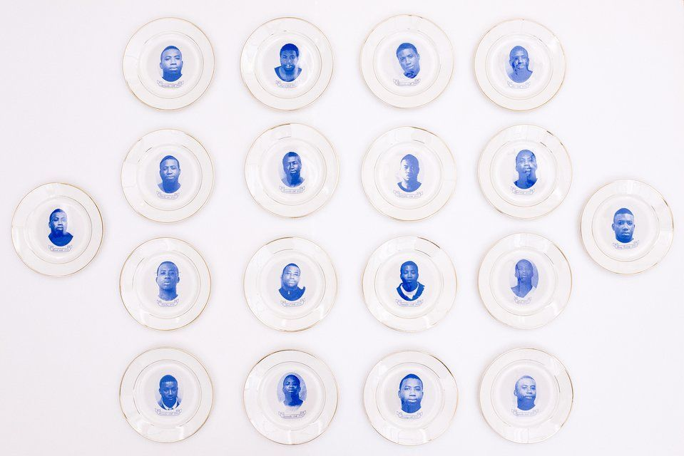 Azikiwe Mohammed - Gucci Mane Commemorative Plates, Design and ...
