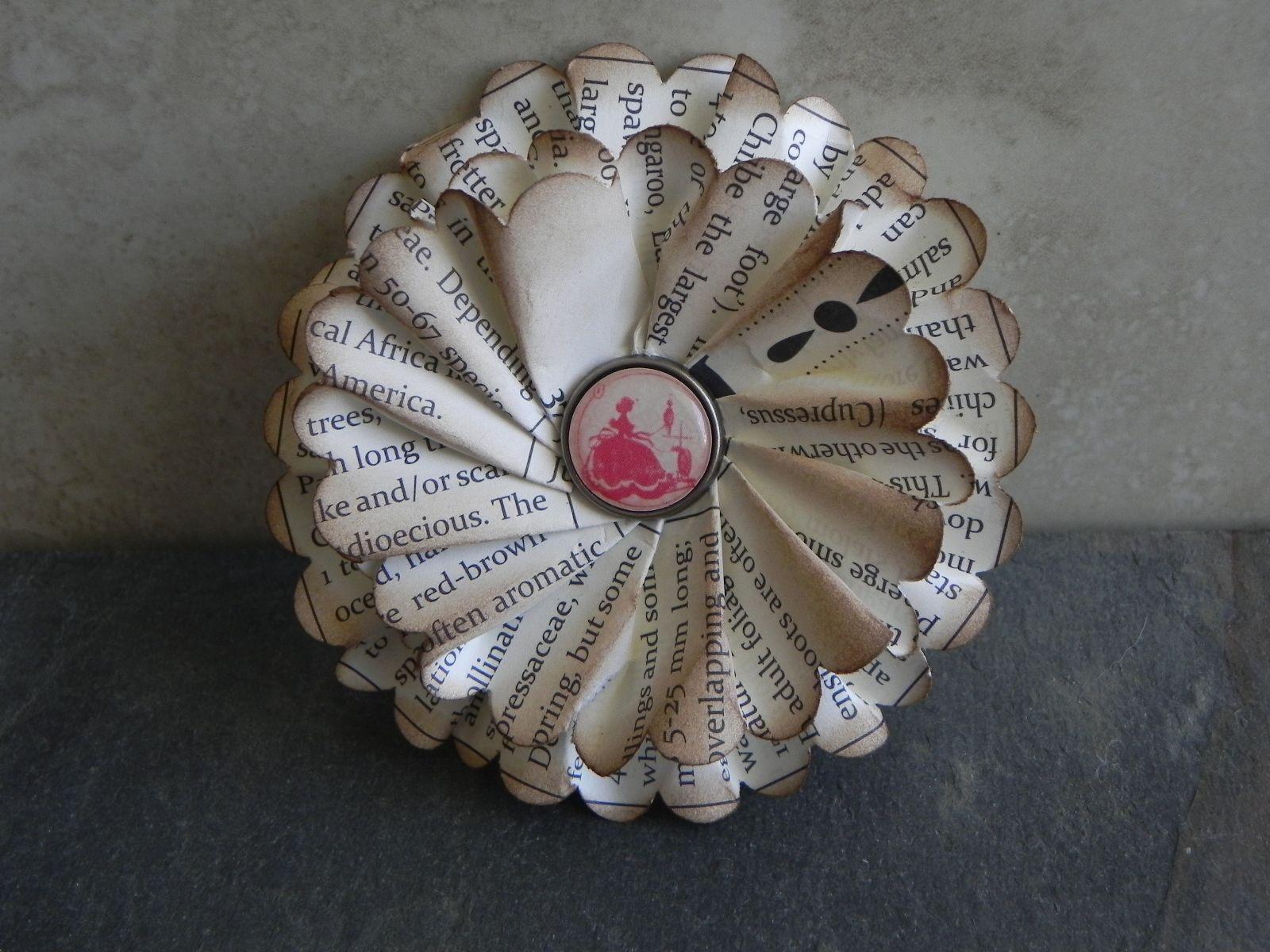 making paper flowers Decopauge