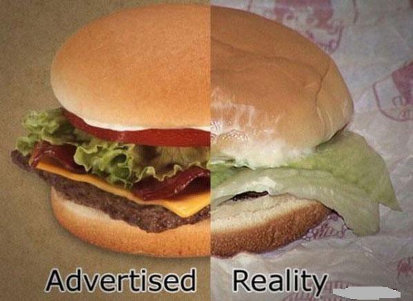 Fast food reality.
