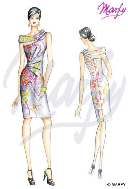 marfy moda 2014 - Пошук Google | Marfy | Pinterest