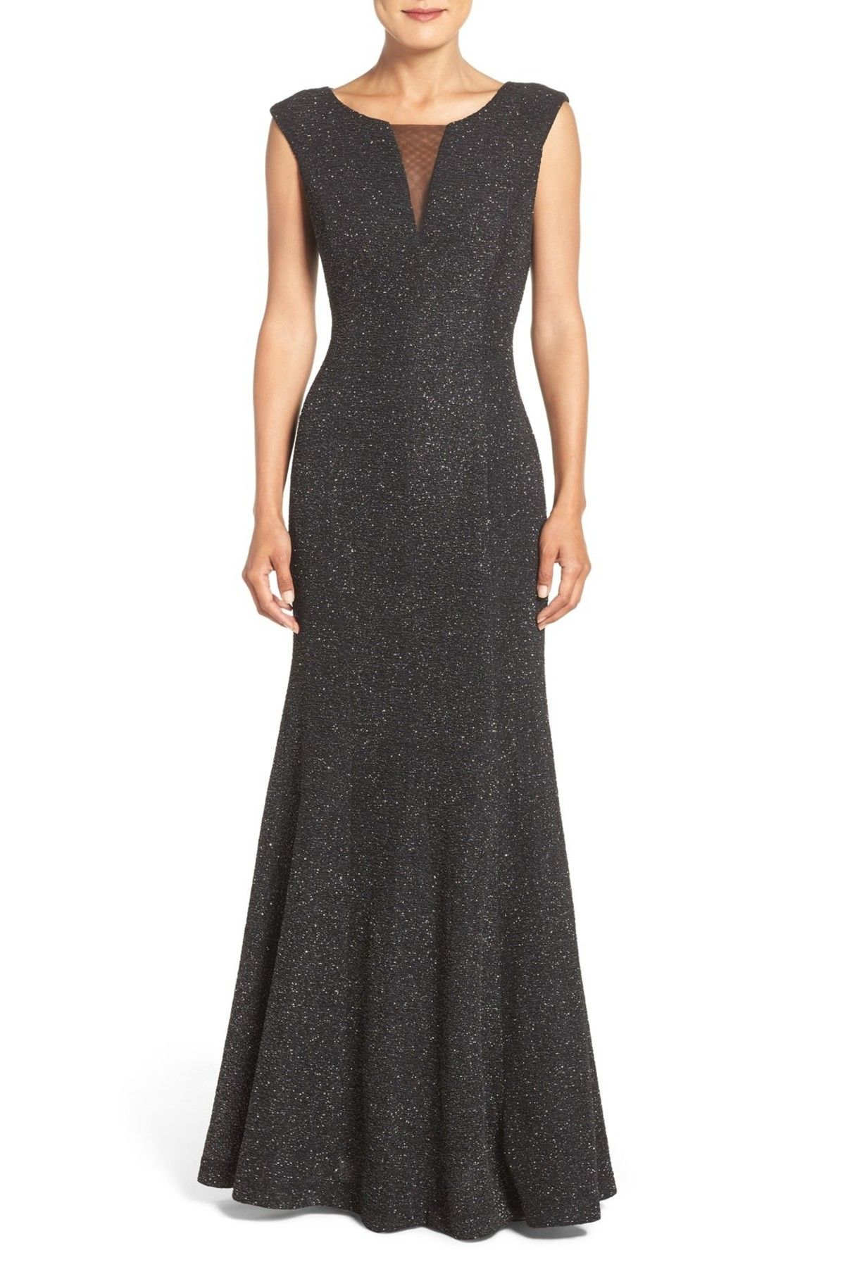 Glitter Knit Gown (Regular & Petite)