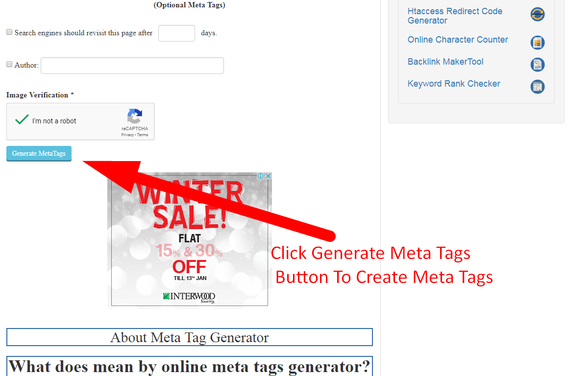 how to create meta tags for blogger | Search Engine Optimization