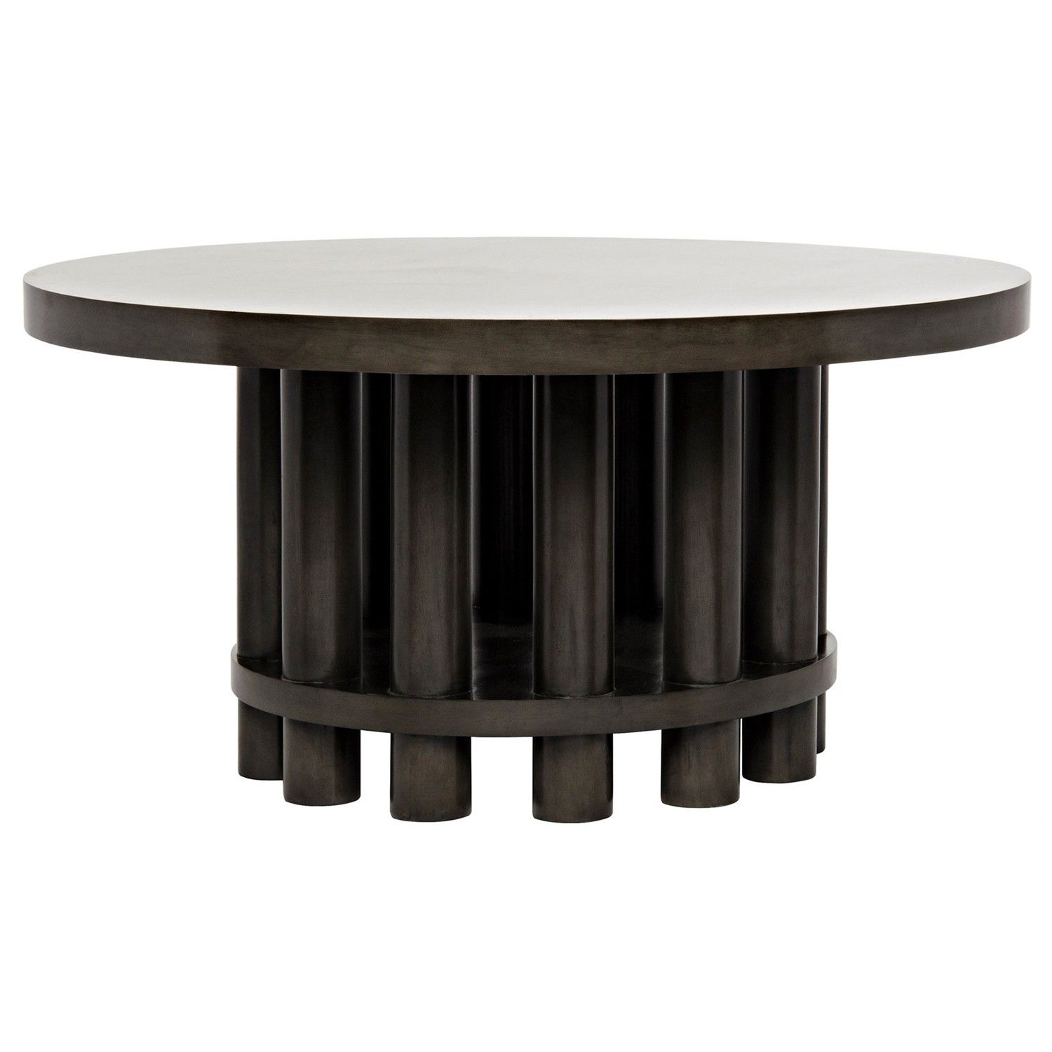 The Hiro Dining Table By Noir Emphasizes Natural Simple And