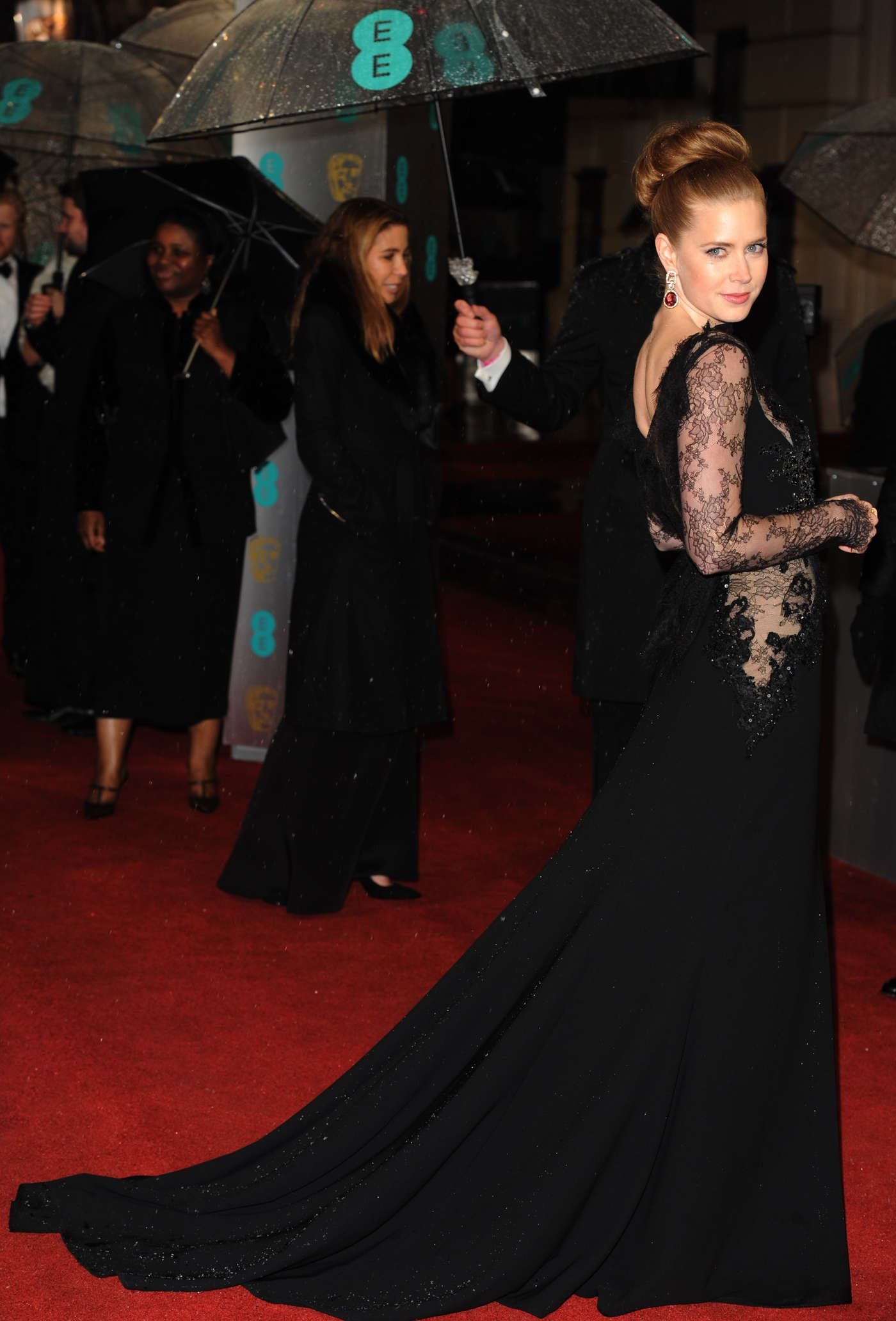 Amy Adams in Elie Saab at the 2013 BAFTA Awards