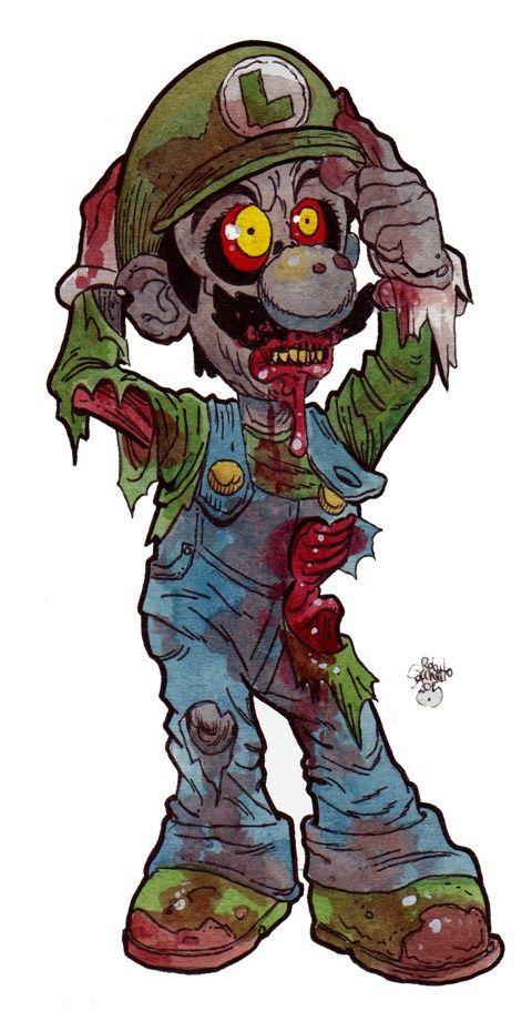Pin di silvia su zombie disegni e personaggi