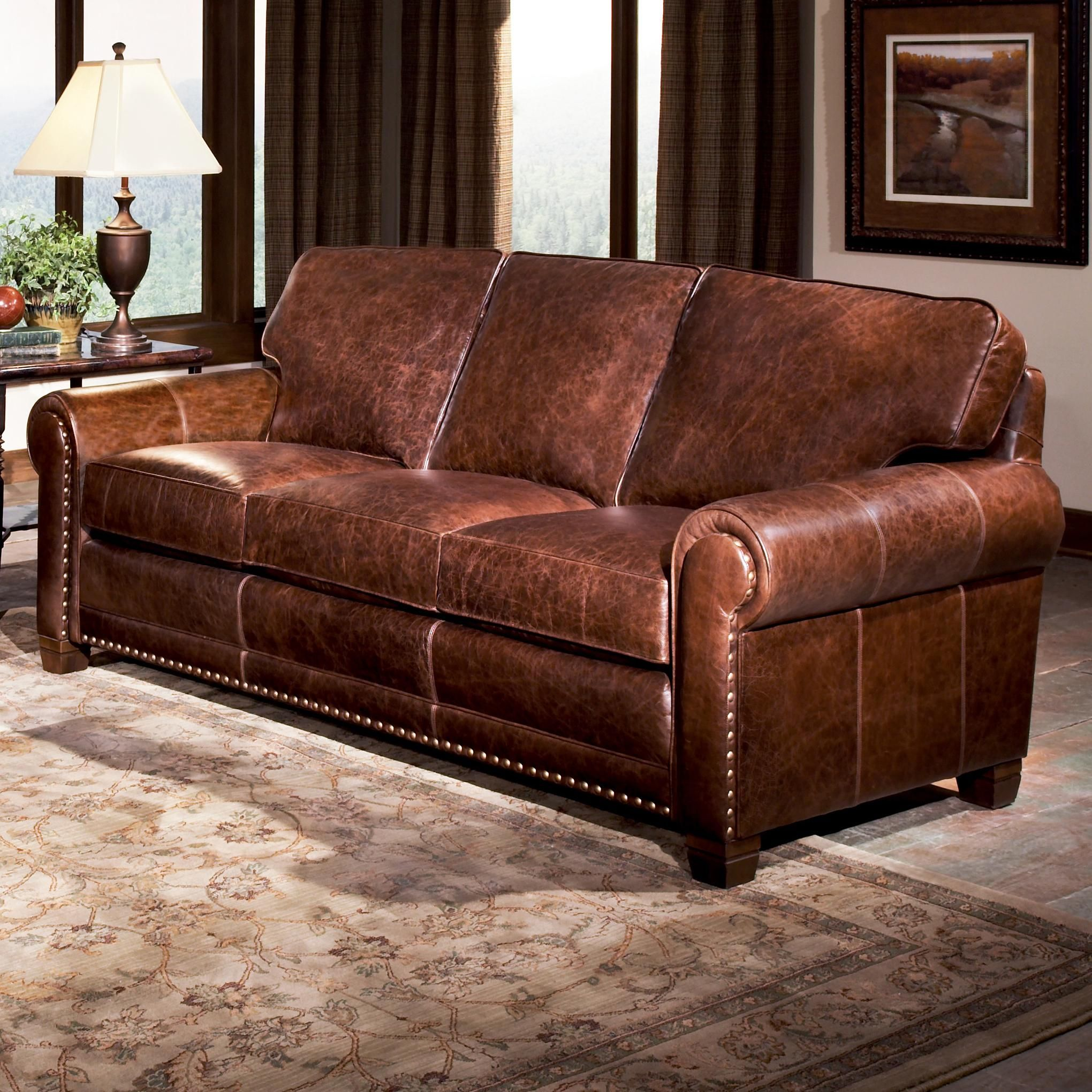 ... Brothers 393 Traditional Stationary Sofa At Saugerties Furniture Mart    Your Poughkeepsie, Kingston, And Albany, New York Furniture U0026 Mattress Store