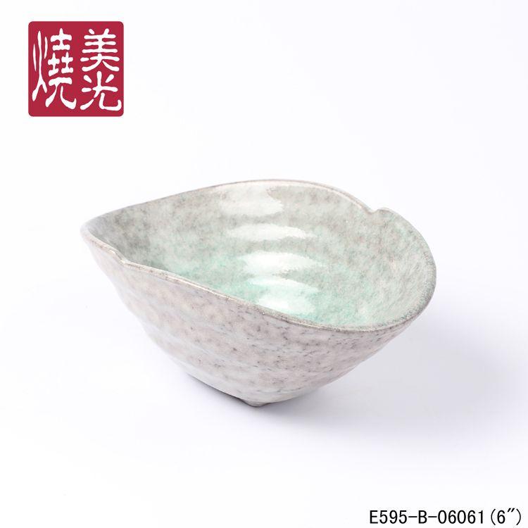 Themed restaurant&hotel porcelain tableware&japanese serving bowl E595-B-06061   Size: length 6 inch