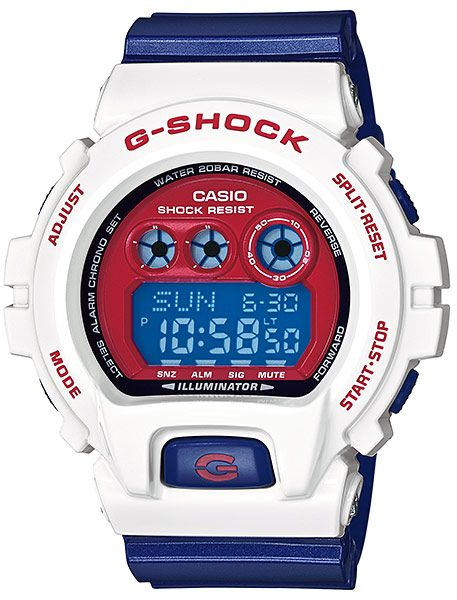 40929f35fd0f G-Shock 6900 XL Limited Edition - Red