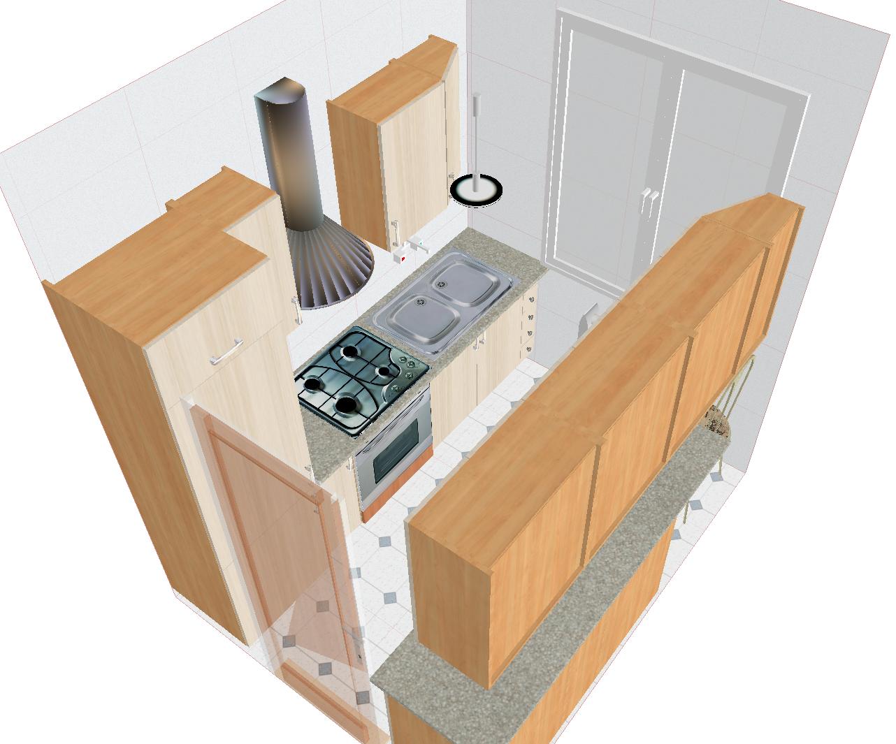 Corridor Style Kitchen Ideas. Corridor Kitchen Layouts With ...