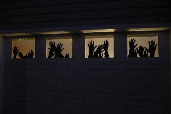 More Scary DIY Outdoor Halloween Decorations Halloween Pinterest - scary door decorations for halloween