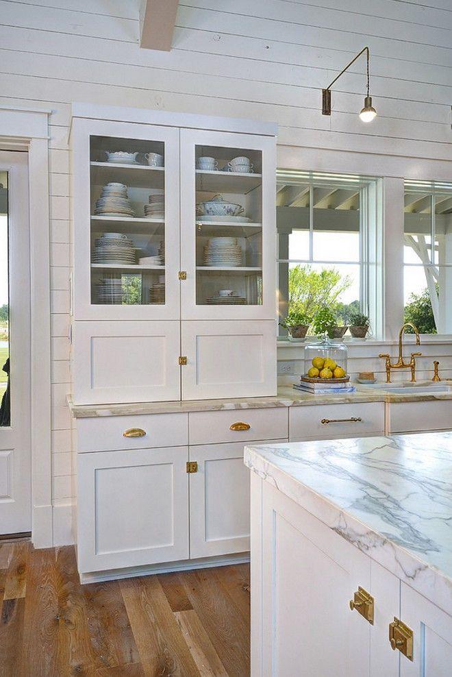 Coastal Farmhouse Kitchen Trend | kitchens | Pinterest | Küche