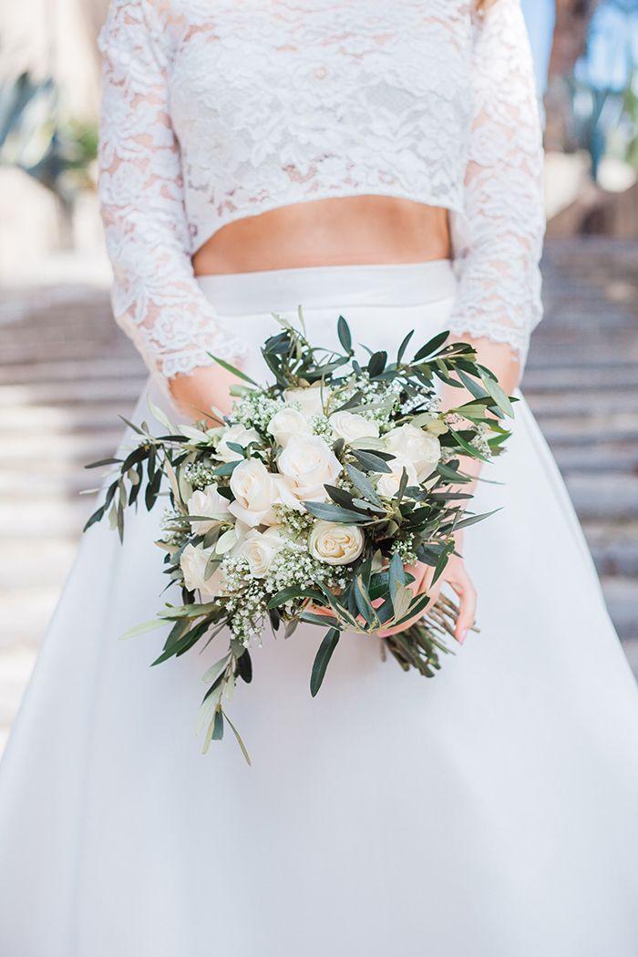 Mediterrane Hochzeitsidee #dekorationhochzeit