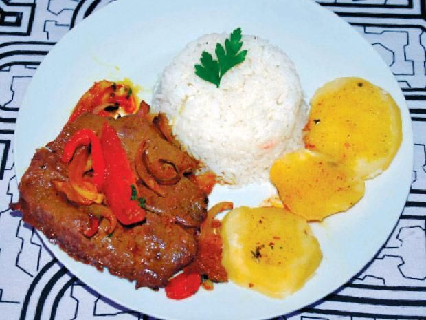 La receta popular: hígado a la loretana