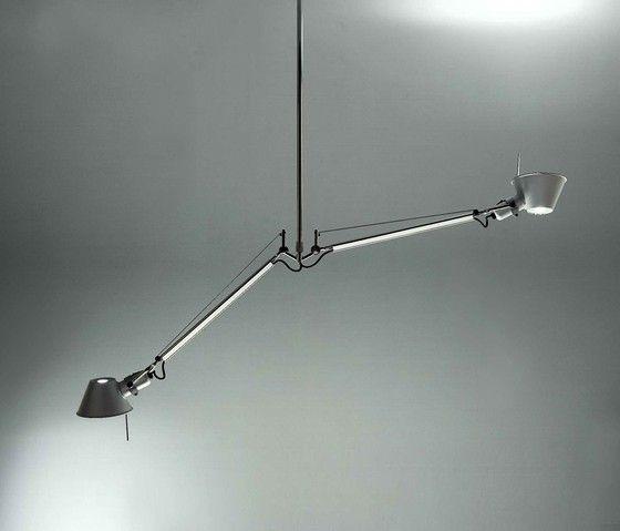 Tolomeo due bracci alluminio suspension lamp