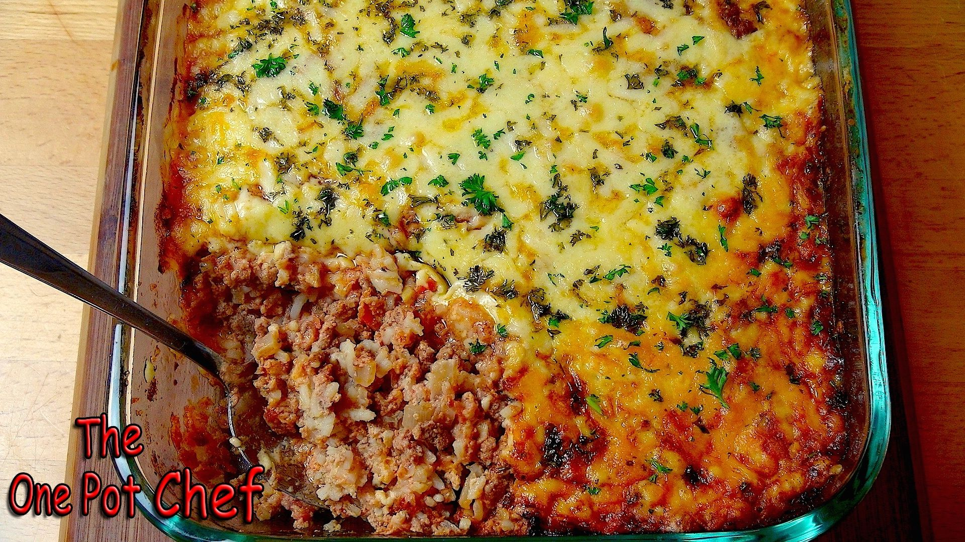 NEW VIDEO: Bolognese Rice Bake! Watch the full recipe video on YouTube: http://youtu.be/2xLSW0Yz0jQ