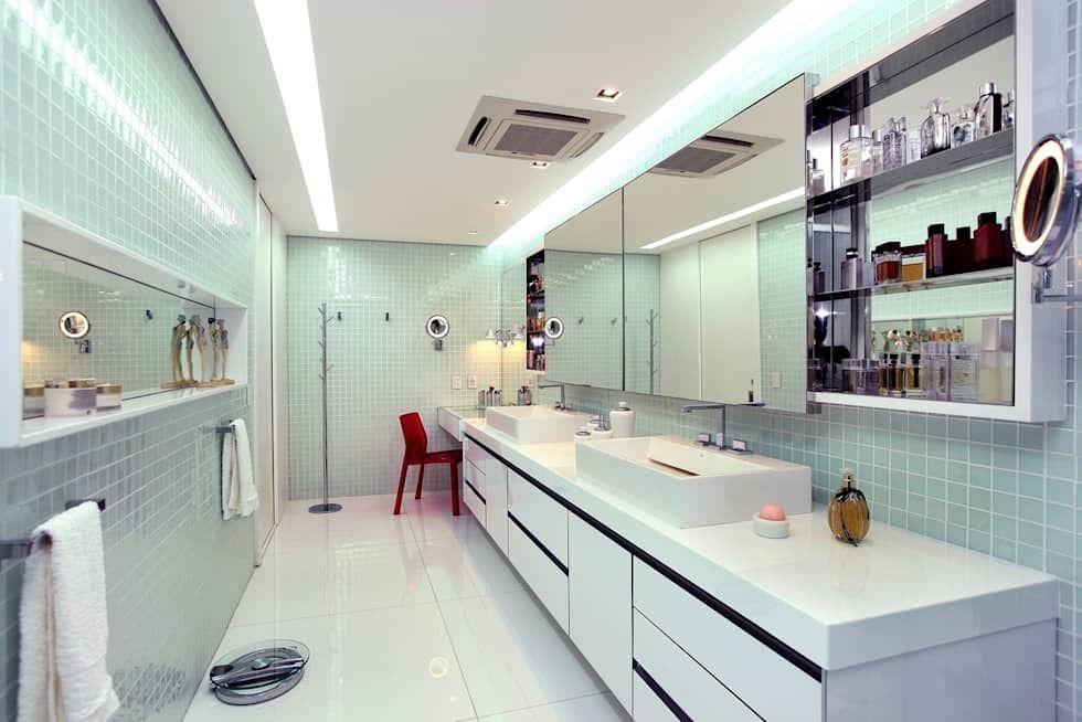 Moderne badezimmer ~ Moderne badezimmer bilder von rodrigo maia arquitetura design