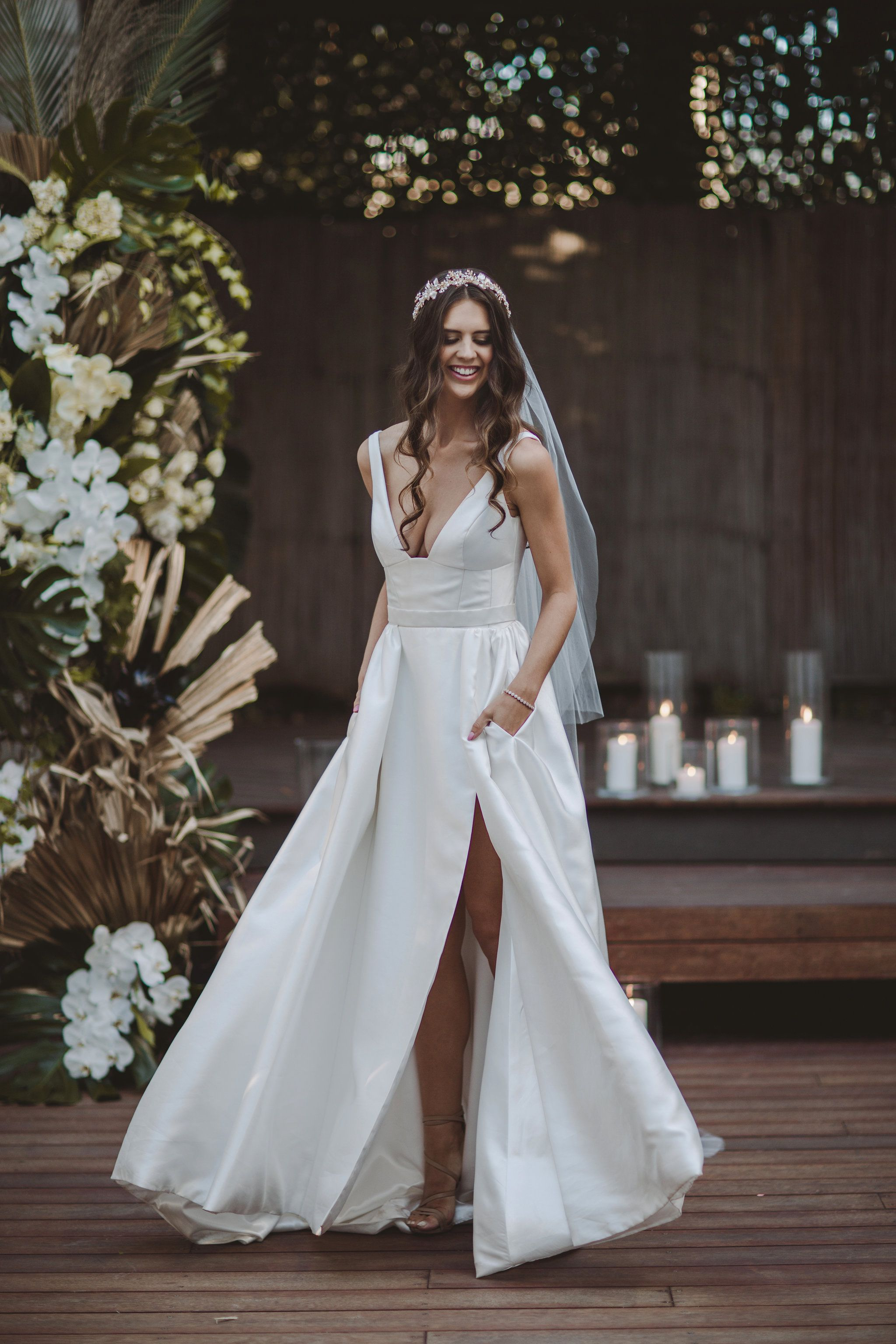 STYLED SHOOT Our stunning Taryn/Camille gown features a