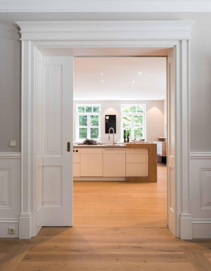 Tür mit Wandverkleidung in 2019 Küchendesign, Küche
