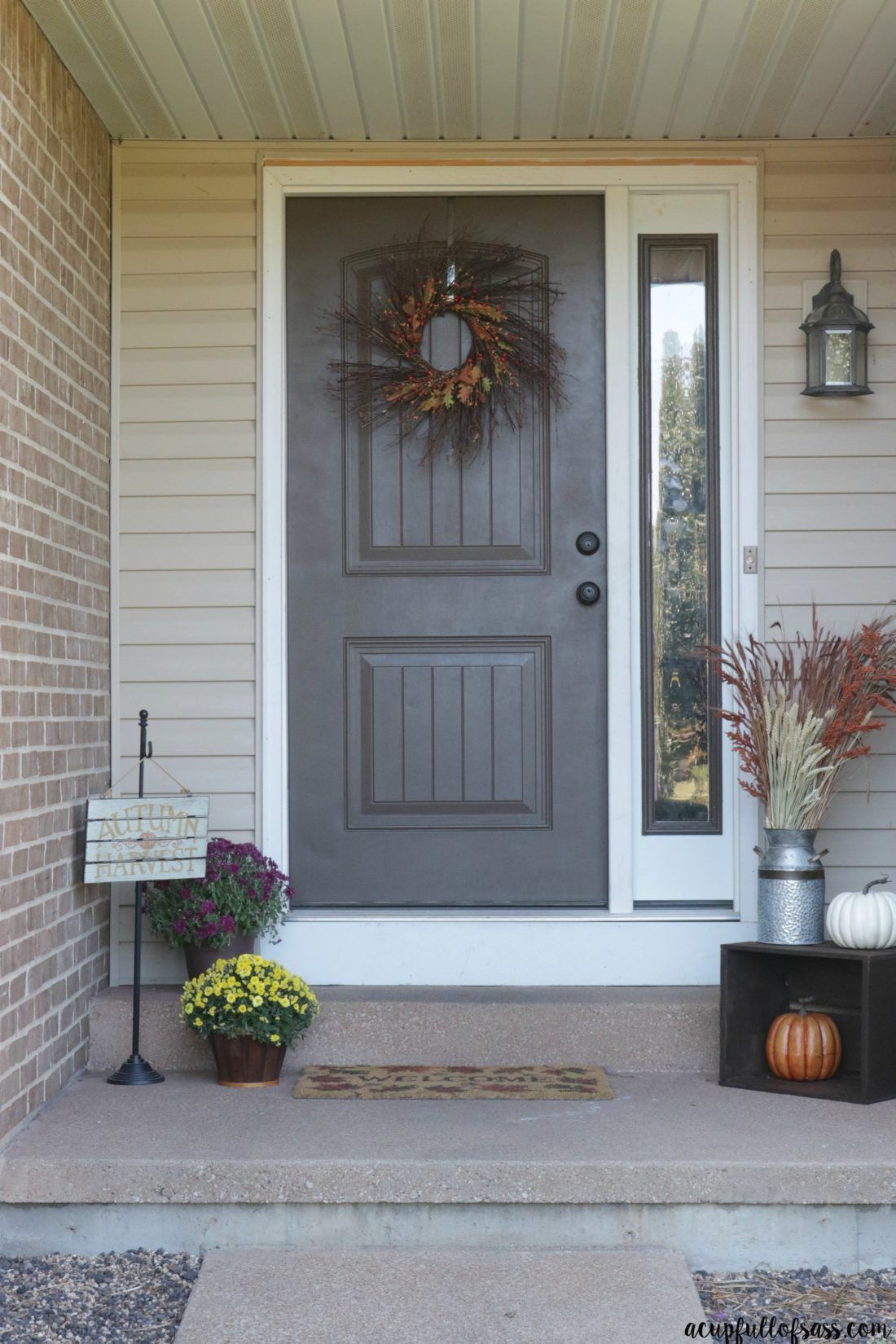 Fall Harvest Porch Decorations