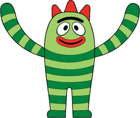 yo gabba gabba pictures to printable pictures | brobee print-it, Wedding invitations
