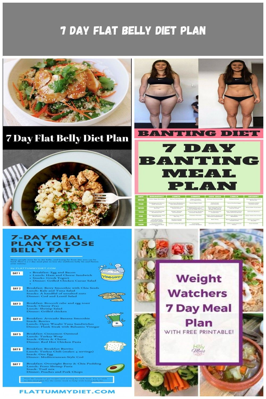 7 day flat belly diet