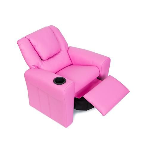 Magnificent Kids Leather Recliner Chair Pink House Home Kids Andrewgaddart Wooden Chair Designs For Living Room Andrewgaddartcom