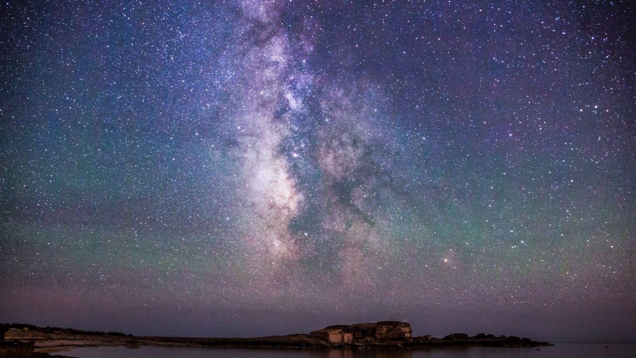 Iceland Night Sky Stars Northern Lights Night Sky Stars Northern Lights Iceland Wallpaper