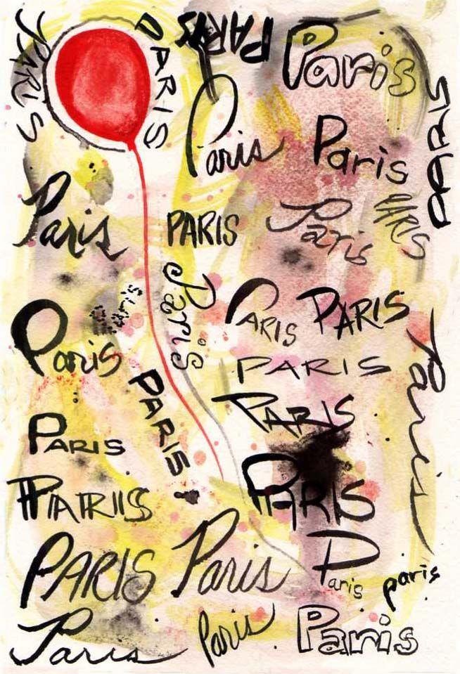 Paris by Adelle Macero