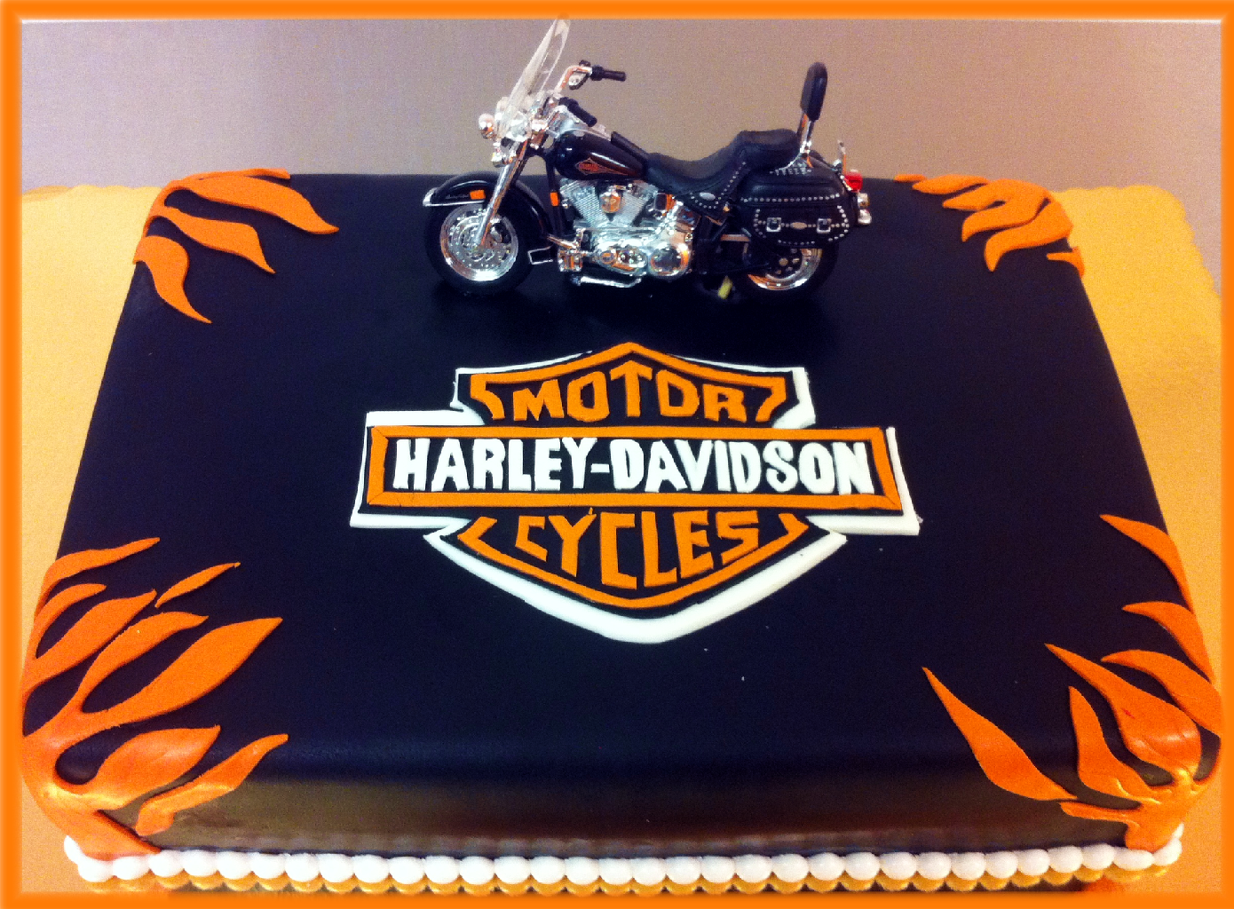 Harley davidson motorcycle cake google search miss for Motorbike template for cake