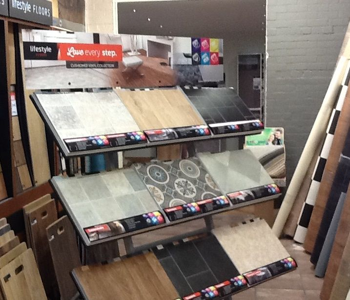 Lifestyle Floors Shown Here On Display In A Retailers Store This Is Our Vinyl Collection Stand To Find A Retailer Local To You Vis Home Decor Home Flooring