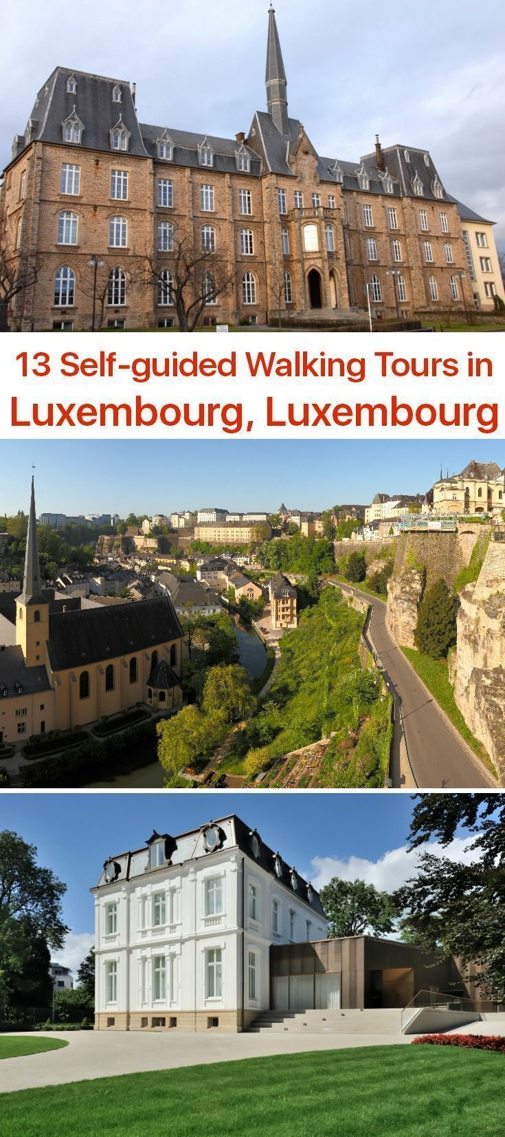 Walking Tours in Luxembourg, Luxembourg Tours