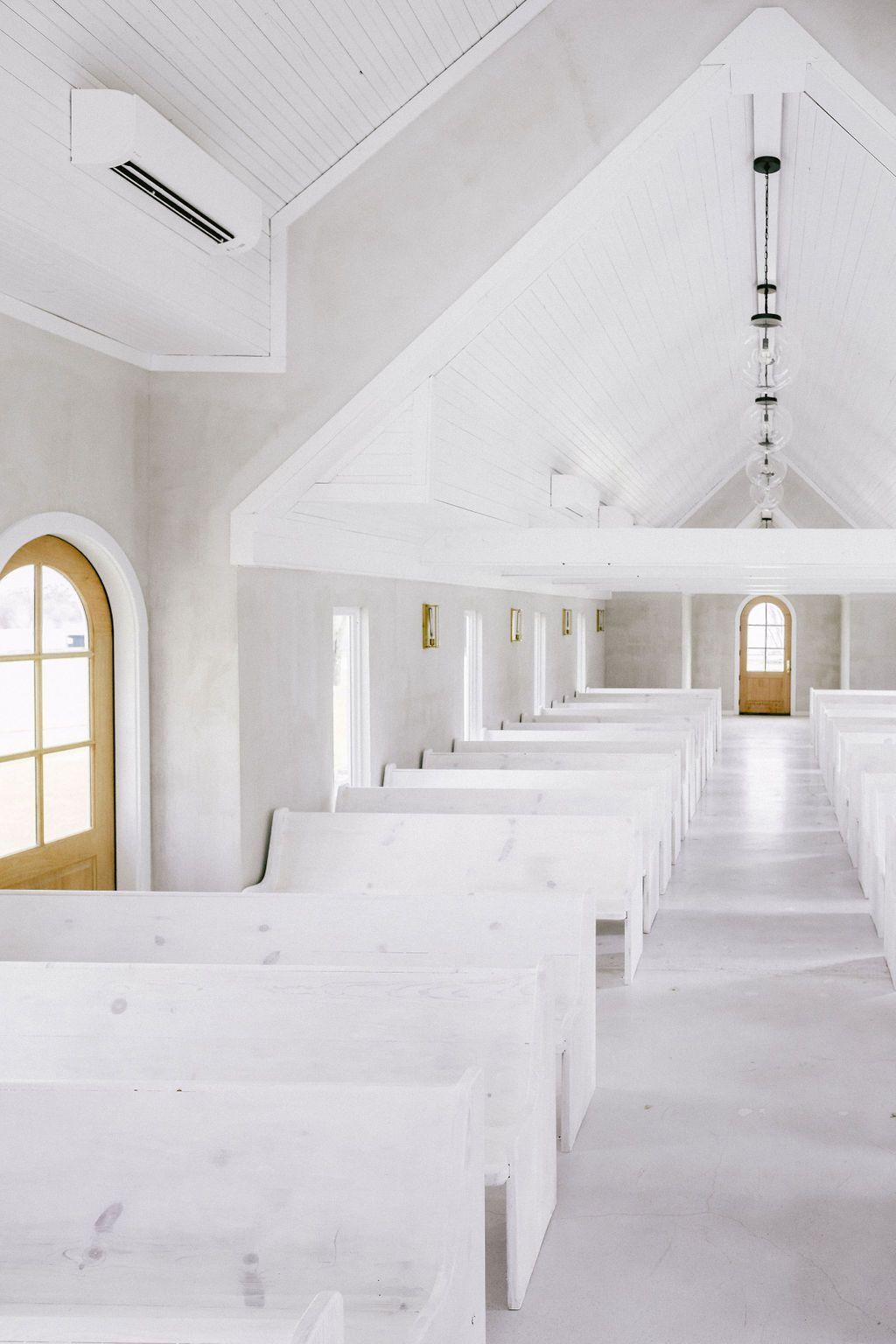 Modern Wedding Chapel Designed by Leanne Ford Opens in Texas #leannefordinteriors