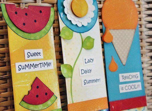 Summer bookmarks ! \