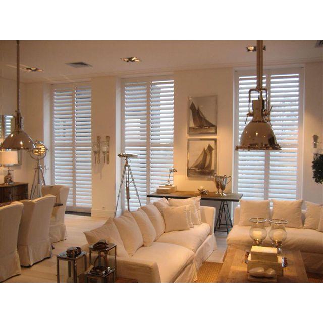 Shutters in de woonkamer | shutters | Pinterest | Living rooms ...