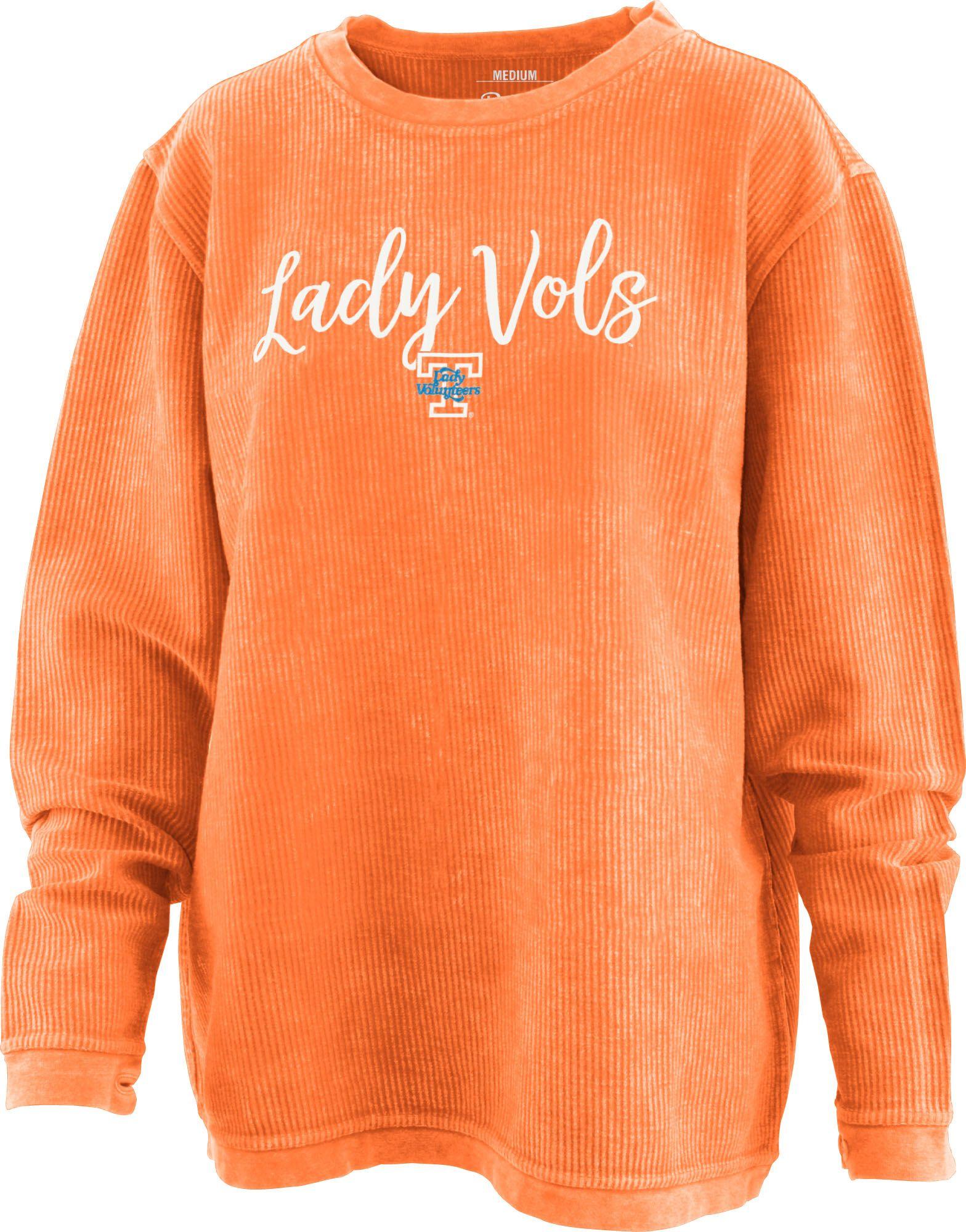 Lady Vols Orange Comfy Cords Long Sleeve Shirts Lady Shirts [ 2000 x 1568 Pixel ]