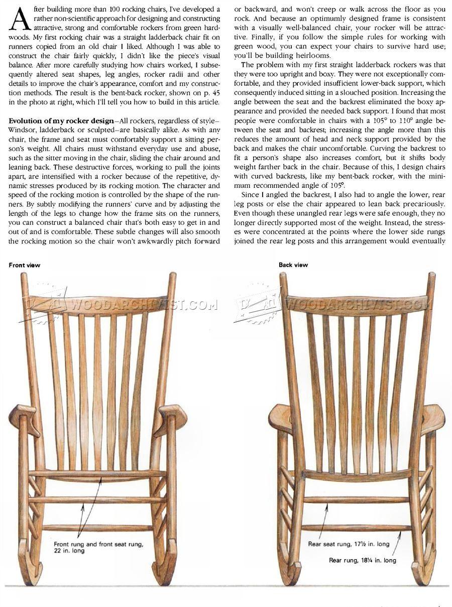 Outstanding 2702 Build Rocking Chair Furniture Plans Diy Rocking Beatyapartments Chair Design Images Beatyapartmentscom