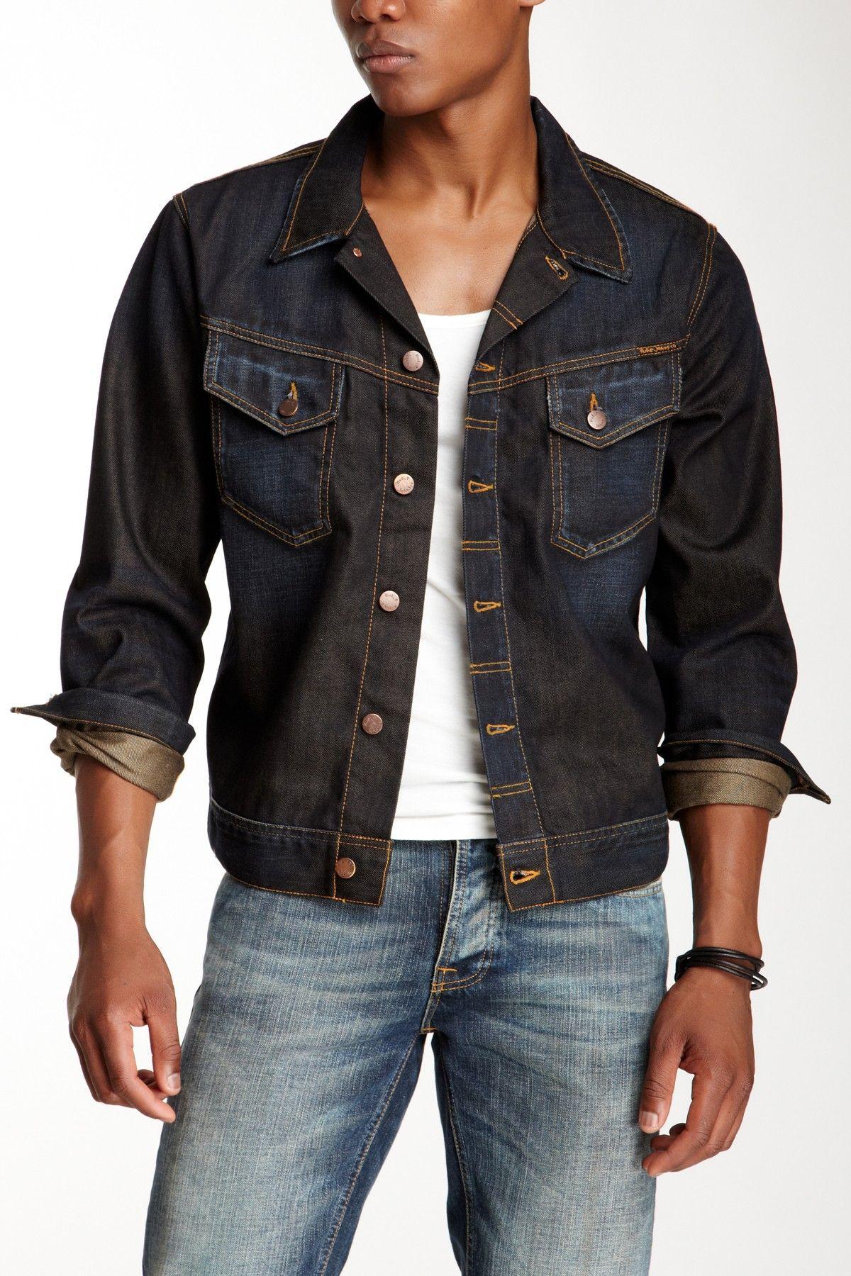 3397e8b8f4 Nudie Jeans Conny True Worn Denim Jacket on HauteLook