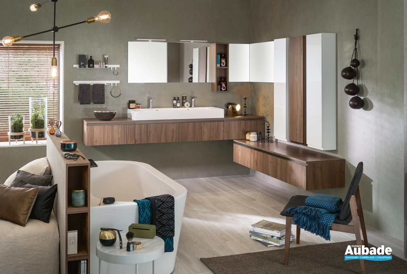 Meubles salle de bains Unique Origine 17 Delpha  Espace Aubade