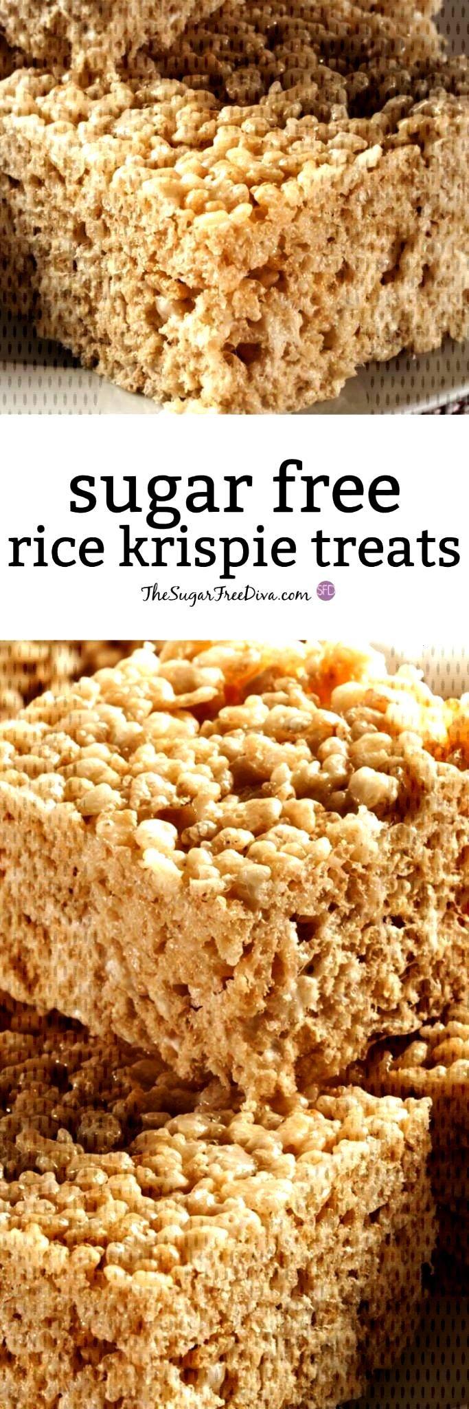 to Make Sugar Free Rice Krispie TreatsHow to Make Sugar Free Rice Krispie Treats  We all love fresh