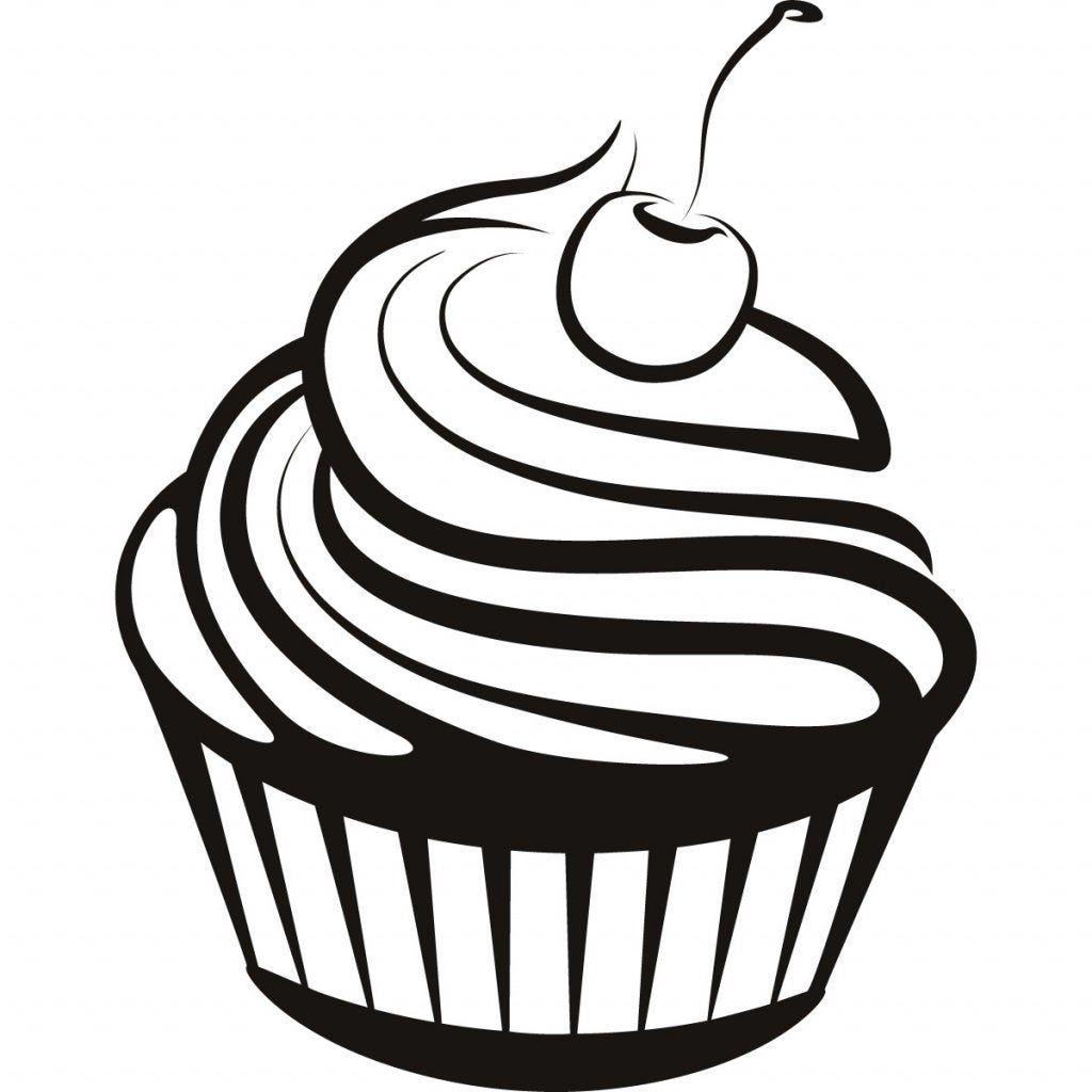 Cupcake Flex Cupcake Drawing Cupcake Clipart Cupcake Coloring Pages