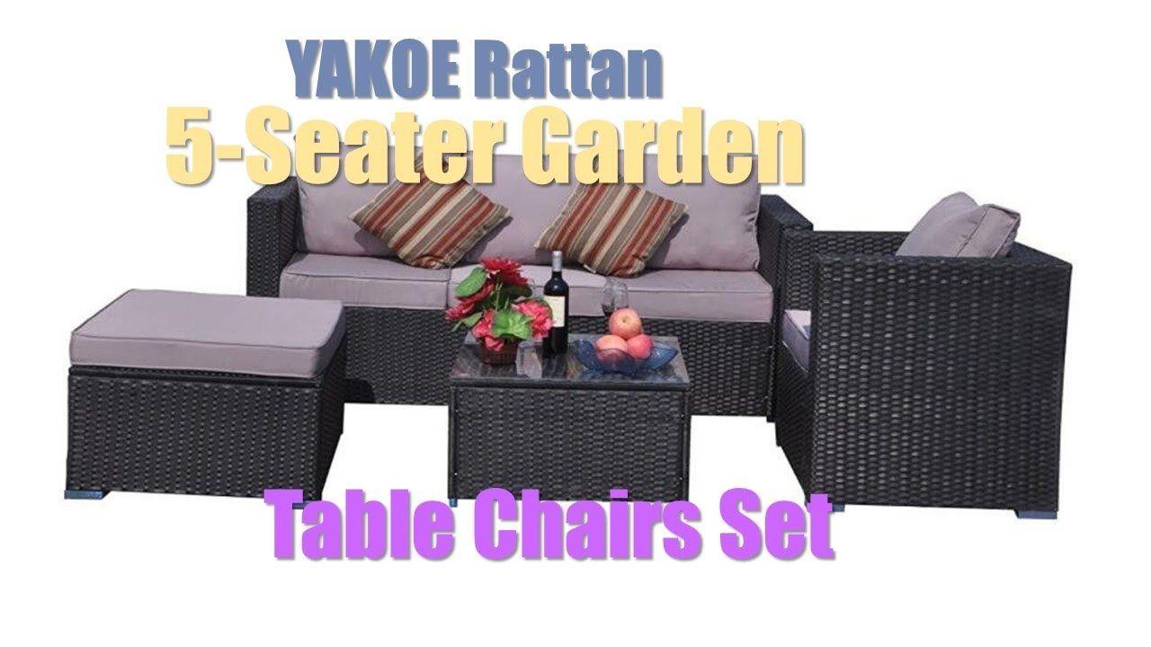 Pin On Yakoe Rattan 5 Seater
