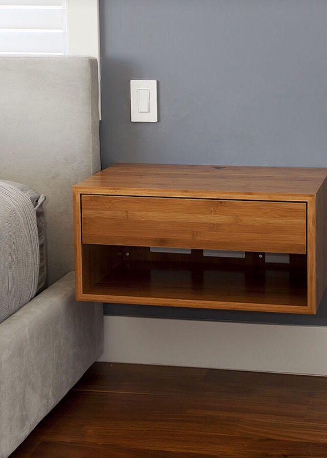 Bur flotante buenas ideas pinterest buro mesa de - Muebles para dormitorios matrimoniales ...
