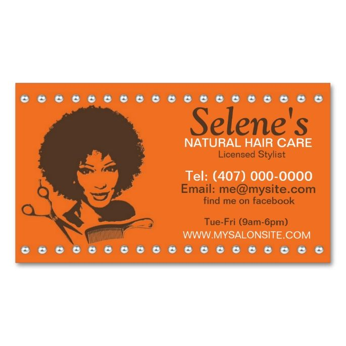 Natural hair african american salon business card i love this natural hair african american salon business card colourmoves Images
