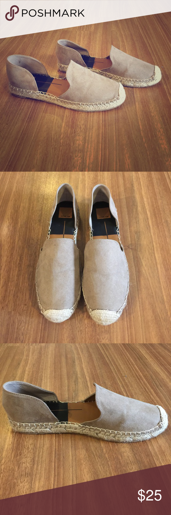 Dolce Vita Espadrilles Tan suede Espadrilles, worn once in amazing condition! Dolce Vita Shoes Espadrilles